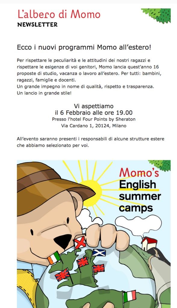 IT'S SIMPLE SUMMER CAMP PER SITO
