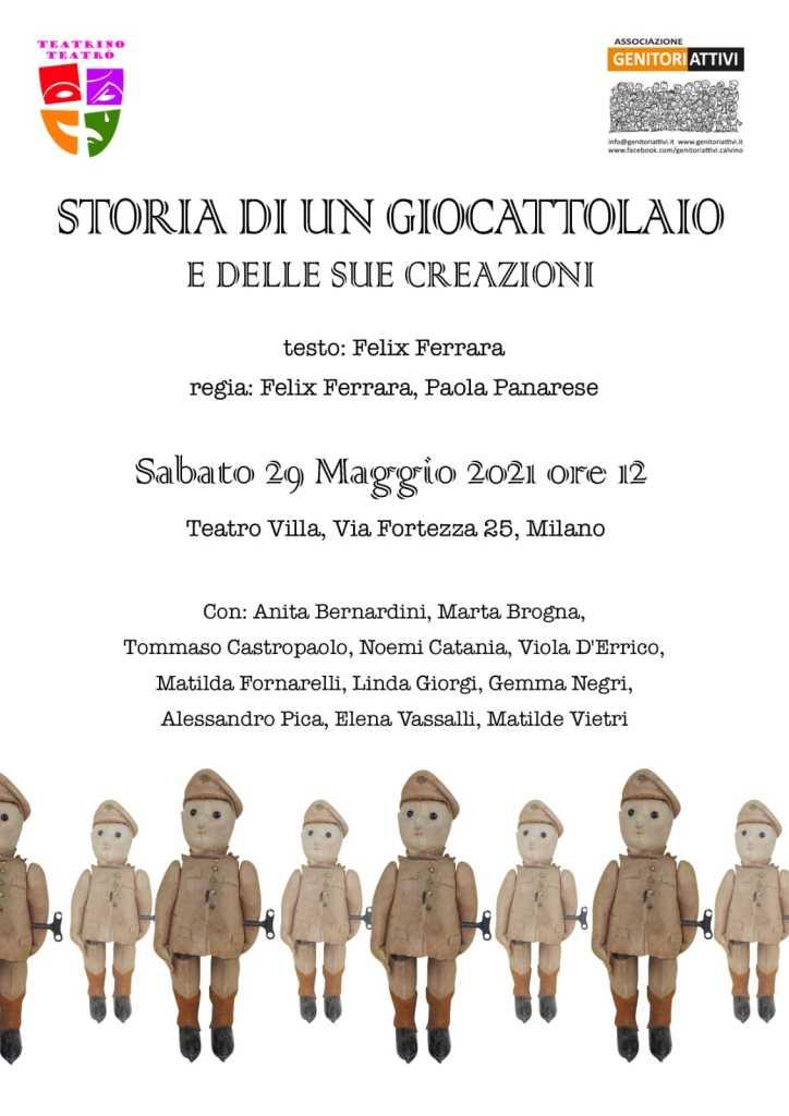 LOCANDINA SAGGIO TEATRO 2 2021 - PICCOLI